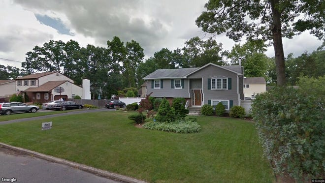 This Google Street View image shows the approximate location of 31 Oakleaf Lane in Toms River. The property at this address changed hands in October 2019, when new owners bought the property for $299,000.