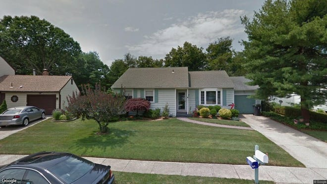 This Google Street View image shows the approximate location of 316 Ashford Road in Toms River. The property at this address changed hands in October 2019, when new owners bought the property for $254,000.