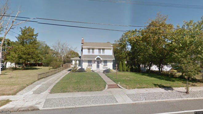 This Google Street View image shows the approximate location of 215 Pine St. in Lakehurst. The property at this address changed hands in October 2019, when new owner bought the property for $198,000.