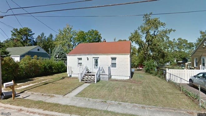 This Google Street View image shows the approximate location of 409 Poplar St. in Lakehurst. The property at this address changed hands in October 2019, when new owners bought the property for $185,000.