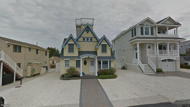 This Google Street View image shows the approximate location of 105 E. Surf Ave. in Long Beach Township. The property at this address changed hands in October 2019, when new owner bought the property for $1,610,000.