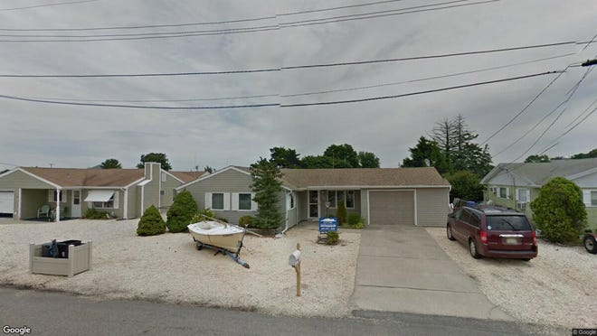 This Google Street View image shows the approximate location of 21 Peg Leg Way in Waretown. The property at this address changed hands in October 2019, when new owners bought the property for $337,500.