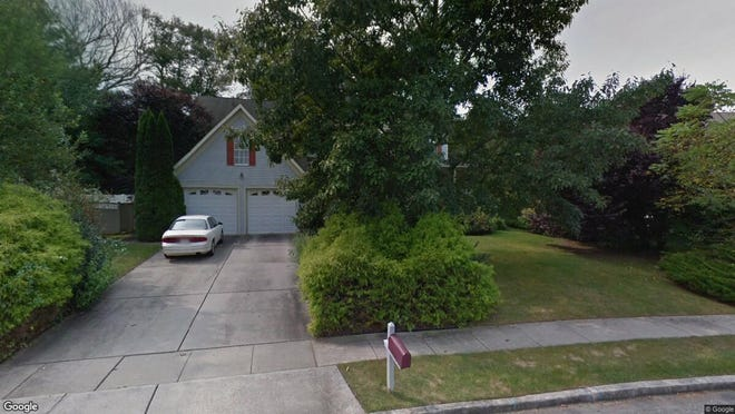 This Google Street View image shows the approximate location of 173 Preamble Drive in Evesham. The property at this address changed hands in October 2019, when new owners bought the property for $475,000.