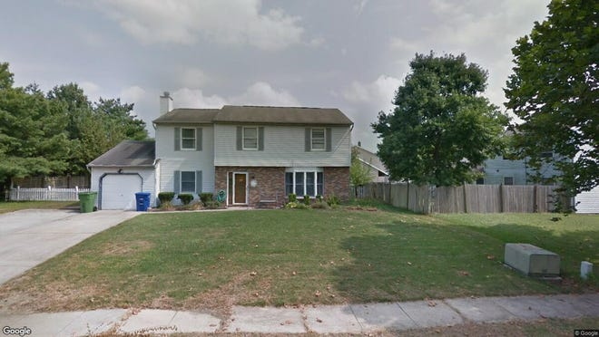 This Google Street View image shows the approximate location of 607 Waldorf Road in Evesham. The property at this address changed hands in October 2019, when new owners bought the property for $293,000.
