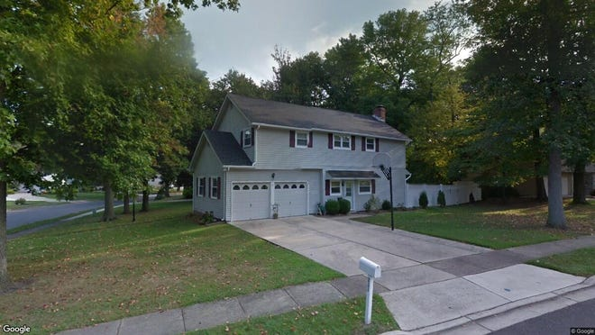 This Google Street View image shows the approximate location of 231 Belaire Terrace in Mount Laurel. The property at this address changed hands in October 2019, when new owners bought the property for $332,000.