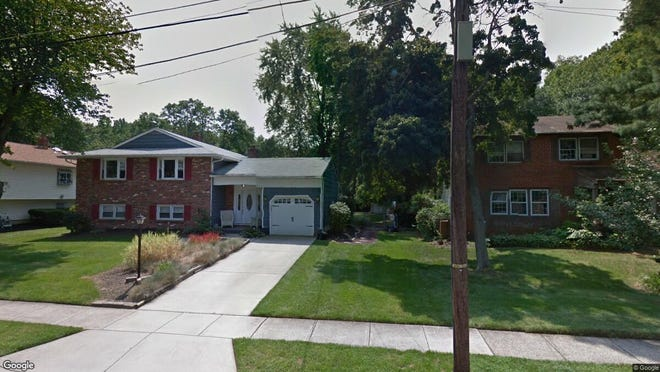 This Google Street View image shows the approximate location of 181 Schoolhouse Lane in Mount Laurel. The property at this address changed hands in September 2019, when new owners bought the property for $289,000.