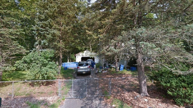 This Google Street View image shows the approximate location of 129 Split Rock Road in Pemberton Township. The property at this address changed hands in October 2019, when new owner bought the property for $205,000.