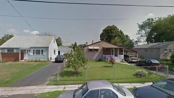 This Google Street View image shows the approximate location of 617 Smith Lane in Mount Holly. The property at this address changed hands in October 2019, when new owners bought the property for $194,500.