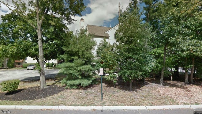 This Google Street View image shows the approximate location of 358 Woodlake Drive in Evesham. The property at this address changed hands in October 2019, when new owner bought the property for $112,900.