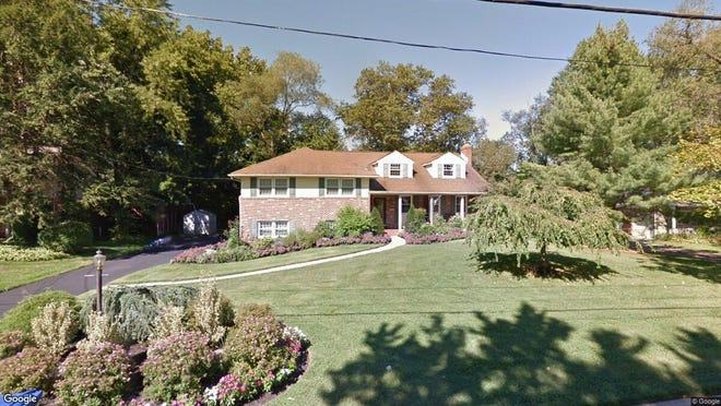 This Google Street View image shows the approximate location of 303 Devon Road in Cinnaminson. The property at this address changed hands in November 2019, when new owners bought the property for $365,000.
