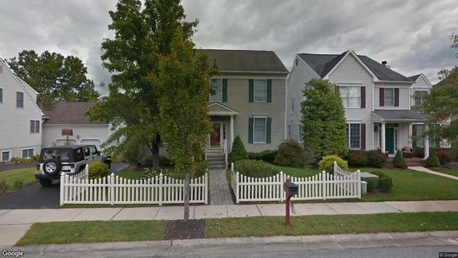 This Google Street View image shows the approximate location of 7 Hampshire Way in Medford. The property at this address changed hands in September 2019, when new owners bought the property for $420,000.