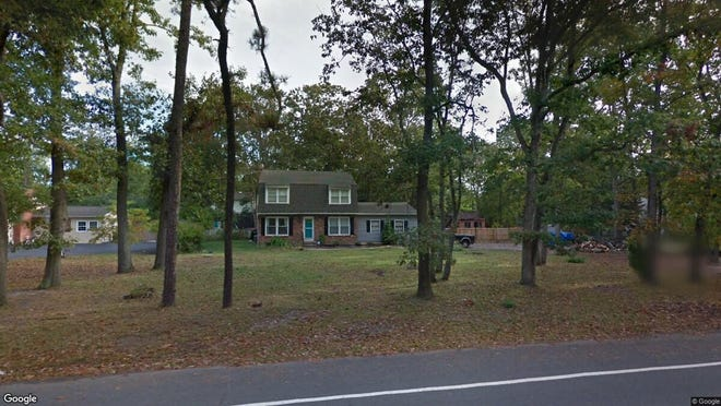 This Google Street View image shows the approximate location of 499 Tuckerton Road in Medford. The property at this address changed hands in October 2019, when new owners bought the property for $285,000.