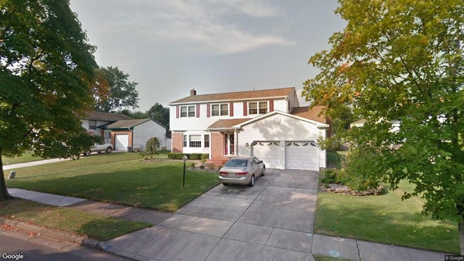 This Google Street View image shows the approximate location of 705 Hunters Lane in Mount Laurel. The property at this address changed hands in October 2019, when new owners bought the property for $335,000.