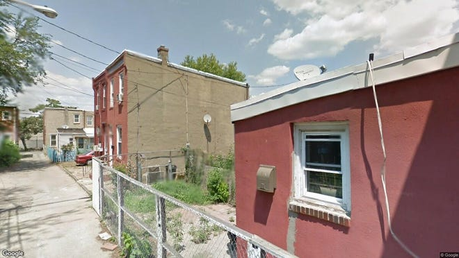 This Google Street View image shows the approximate location of 1608 Holcain St. in Camden. The property at this address changed hands in June 2019, when new owner bought the property for $23,000.