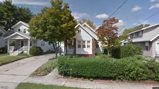 This Google Street View image shows the approximate location of 111 E. Clinton Av in Oaklyn. The property at this address changed hands in September 2019, when new owner bought the property for $119,000.
