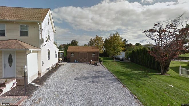This Google Street View image shows the approximate location of 27 Roadstown Shiloh Road in Shiloh. The property at this address changed hands in November 2019, when new owner bought the property for $135,000.