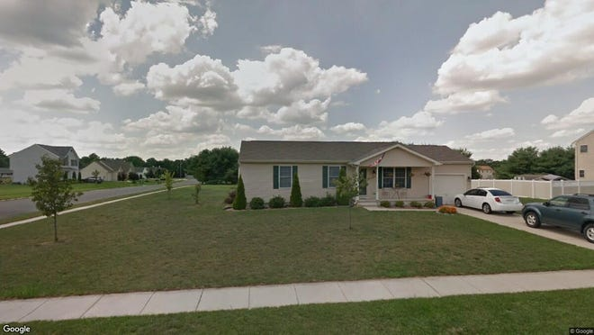 This Google Street View image shows the approximate location of 1214 Livia Lane in Vineland. The property at this address changed hands in October 2019, when new owners bought the property for $185,000.