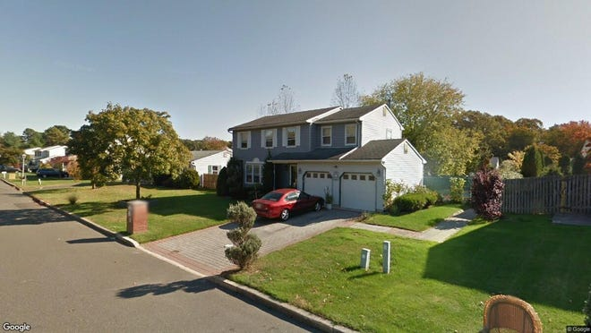 This Google Street View image shows the approximate location of 18 Charles Drive in Tinton Falls. The property at this address changed hands in October 2019, when new owners bought the property for $460,000.