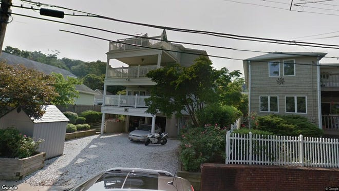 This Google Street View image shows the approximate location of 55 Portland Road in Highlands. The property at this address changed hands in September 2019, when new owners bought the property for $550,000.