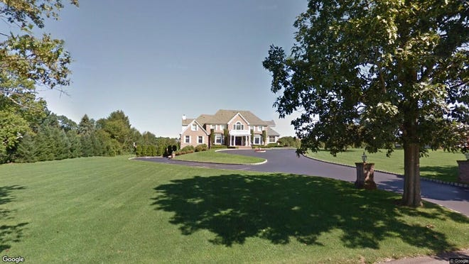 This Google Street View image shows the approximate location of 182 Stone Hill Road in Colts Neck. The property at this address changed hands in November 2019, when new owners bought the property for $999,999.