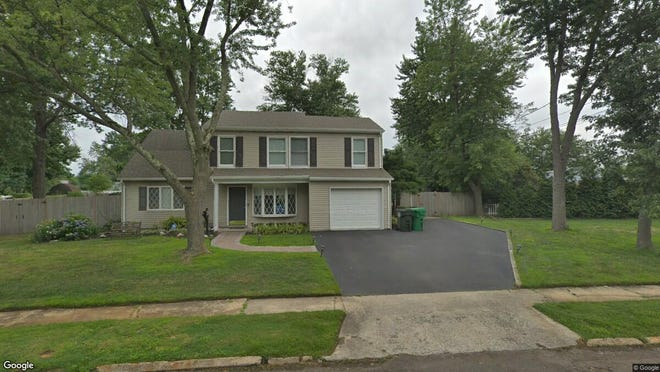 This Google Street View image shows the approximate location of 4 Randolph Place in Hazlet. The property at this address changed hands in October 2019, when new owners bought the property for $482,500.