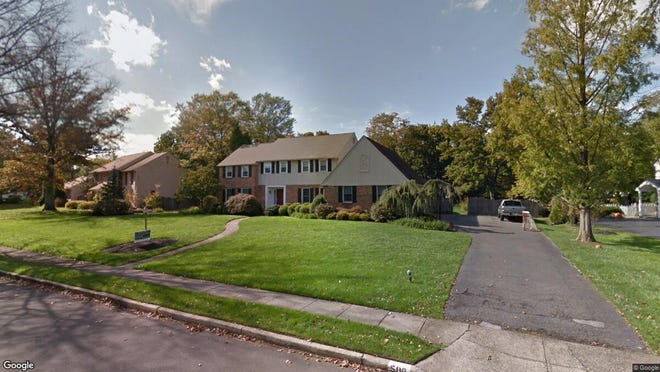 This Google Street View image shows the approximate location of 509 Sentinel Road in Moorestown. The property at this address changed hands in October 2019, when new owners bought the property for $670,000.