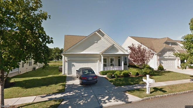 This Google Street View image shows the approximate location of 77 Pennington Court in Delanco. The property at this address changed hands in October 2019, when new owners bought the property for $330,000.