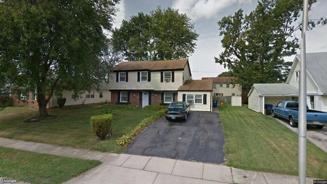 This Google Street View image shows the approximate location of 41 Melrose Lane in Willingboro. The property at this address changed hands in August 2019, when new owner bought the property for $107,000.