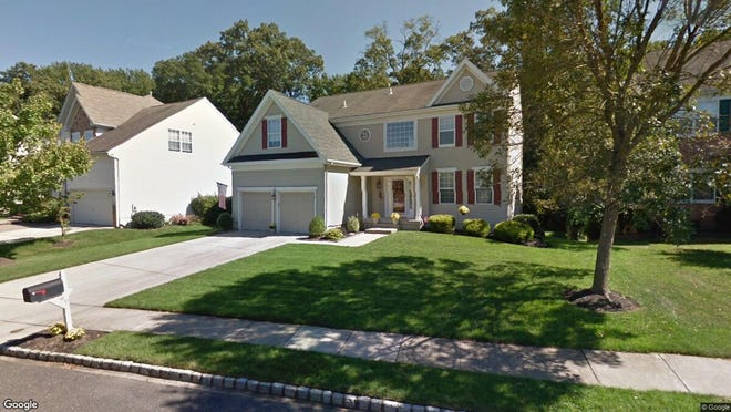 This Google Street View image shows the approximate location of 6 Oakhurst Lane in Mount Laurel. The property at this address changed hands in November 2019, when new owner bought the property for $483,000.