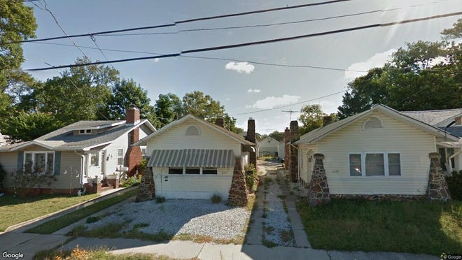 This Google Street View image shows the approximate location of 1247 Maplewood Road in Belmar. The property at this address changed hands in December 2019, when new owner bought the property for $290,000.