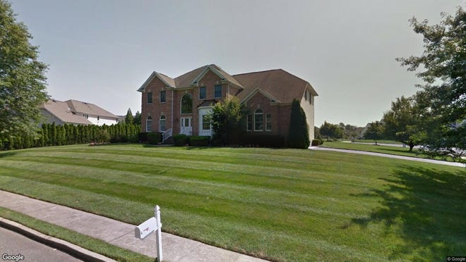 This Google Street View image shows the approximate location of 14 Oxford Drive in Ocean Township. The property at this address changed hands in November 2019, when new owner bought the property for $756,000.