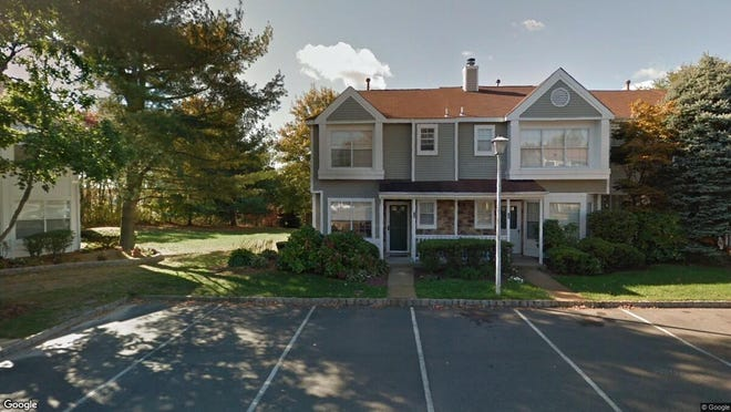 This Google Street View image shows the approximate location of 53 Horseshoe Court in Tinton Falls. The property at this address changed hands in October 2019, when new owners bought the property for $246,000.