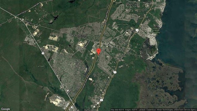 This aerial photo shows the approximate location of 27 Osprey Place in Barnegat. The property at this address changed hands in October 2019, when new owners bought the property for $210,000.
