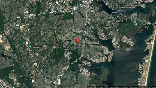 This aerial photo shows the approximate location of 11 Saratoga Place in Toms River. The property at this address changed hands in October 2019, when new owner bought the property for $67,100.