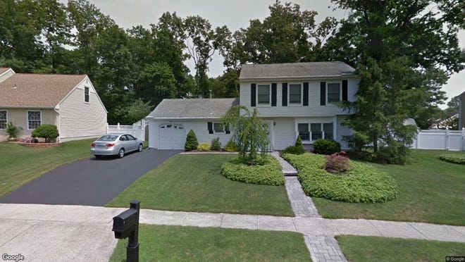 This Google Street View image shows the approximate location of 620 Weston Drive in Toms River. The property at this address changed hands in October 2019, when new owners bought the property for $317,000.