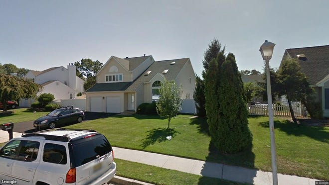 This Google Street View image shows the approximate location of 524 Jessica Lane in Brick. The property at this address changed hands in October 2019, when new owners bought the property for $374,900.