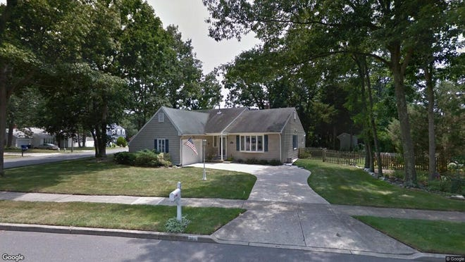 This Google Street View image shows the approximate location of 659 Weston Drive in Toms River. The property at this address changed hands in October 2019, when new owner bought the property for $270,000.