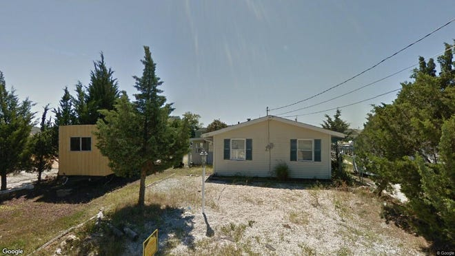 This Google Street View image shows the approximate location of 140 E. Hudson Drive in Little Egg Harbor. The property at this address changed hands in November 2019, when new owner bought the property for $159,200.