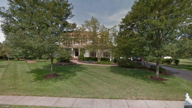 This Google Street View image shows the approximate location of 6 Red Oak Way in Montgomery. The property at this address changed hands in October 2019, when new owners bought the property for $630,000.