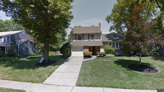 This Google Street View image shows the approximate location of 823 Waterford Drive in Delran. The property at this address changed hands in August 2019, when new owner bought the property for $300,000.