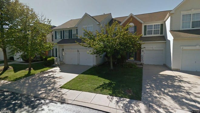 This Google Street View image shows the approximate location of 43 Windingbrook Road in Bordentown Township. The property at this address changed hands in October 2019, when new owner bought the property for $325,000.