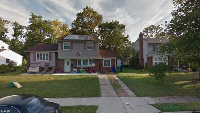 This Google Street View image shows the approximate location of 11 Jefferson Ave. in Evesham. The property at this address changed hands in October 2019, when new owners bought the property for $255,000.