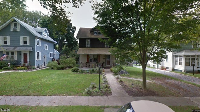 This Google Street View image shows the approximate location of 815 Washington Ave. in Palmyra. The property at this address changed hands in August 2019, when new owner bought the property for $225,000.