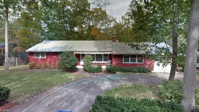 This Google Street View image shows the approximate location of 166 Conawaga Tr in Medford Lakes. The property at this address changed hands in October 2019, when new owners bought the property for $299,000.