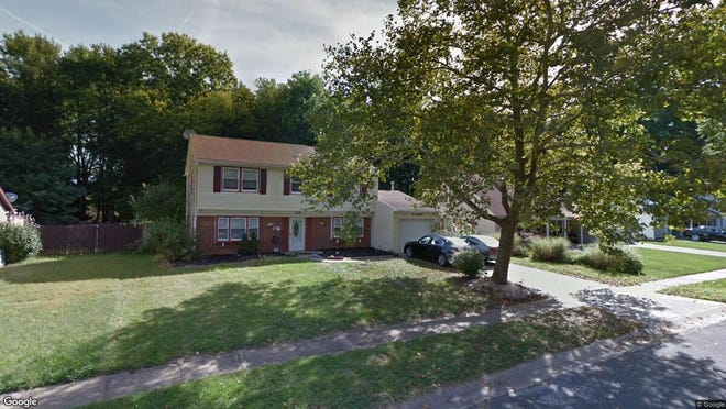 This Google Street View image shows the approximate location of 154 Eastbrook Lane in Willingboro. The property at this address changed hands in September 2019, when new owners bought the property for $185,500.