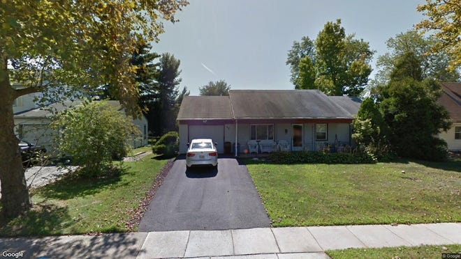 This Google Street View image shows the approximate location of 52 Earnshaw Lane in Willingboro. The property at this address changed hands in September 2019, when new owner bought the property for $184,000.