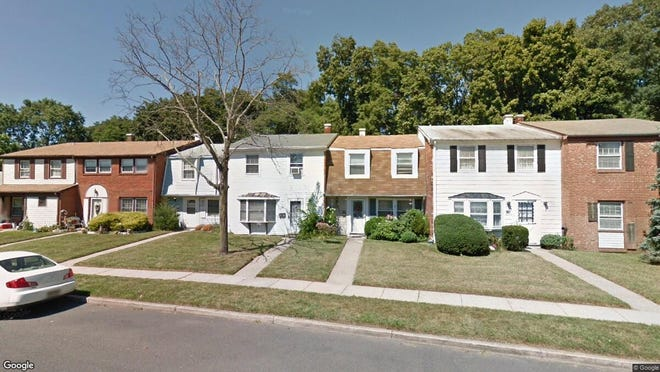 This Google Street View image shows the approximate location of 36 Rittenhouse Drive in Willingboro. The property at this address changed hands in August 2019, when new owner bought the property for $55,000.