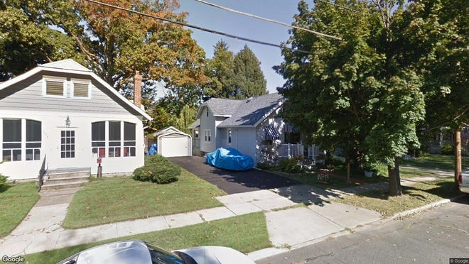 This Google Street View image shows the approximate location of 213 Park Place in Audubon. The property at this address changed hands in October 2019, when new owners bought the property for $200,000.