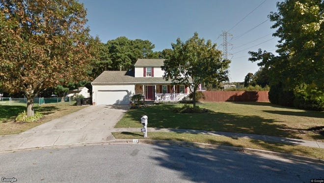 This Google Street View image shows the approximate location of 112 Blair Lane in Berlin Borough. The property at this address changed hands in September 2019, when new owners bought the property for $288,000.