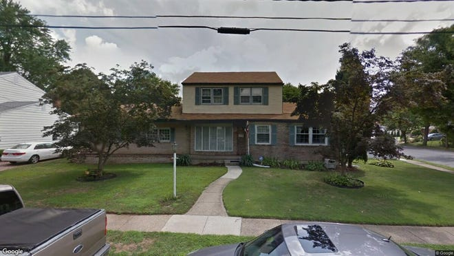 This Google Street View image shows the approximate location of 2624 Burning Tree Road in Pennsauken. The property at this address changed hands in September 2019, when new owners bought the property for $235,000.